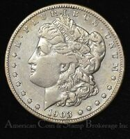 $1 ONE DOLLAR 1903 S EF EXTRA FINE  MORGAN DOLLAR - SEMI KEY DATE