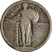 1917 D TYPE 2 STANDING LIBERTY QUARTER GREAT DEALS FROM THE