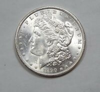 1890 MORGAN DOLLAR  BRILLIANT UNCIRCULATED SILVER DOLLAR