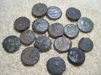 MIXED GROUP LOT OF UNIDENTIFIED ANCIENT COINS  G9