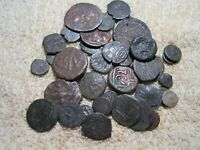 MIXED GROUP LOT OF UNIDENTIFIED ANCIENT COINS  G12