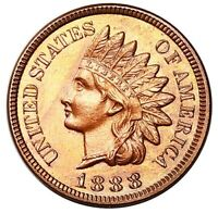 1888 INDIAN HEAD CENT PENNY RED PROOF GORGEOUS SUPERB GEM PR