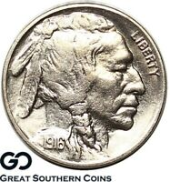 1916 S BUFFALO NICKEL TOUGH CHOICE BU   BETTER DATE