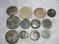 MIXED GROUP LOT OF UNIDENTIFIED ANCIENT COINS  D14