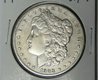 1903-S MORGAN SILVER DOLLAR VF/EXTRA FINE  DETAIL KEY SAN FRANCISCO MINT COIN 81619