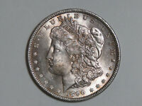 1890 MORGAN SILVER DOLLAR - TONED