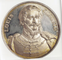1851 UNITED STATES/HUNGARY. PROOF LIKE SILVER