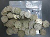 50   JEFFERSON SILVER WAR NICKELS
