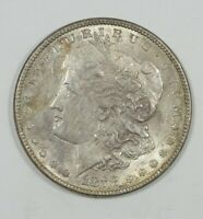 1878 7/8 TAIL FEATHER MORGAN SILVER DOLLAR ALMOST UNC  4 VISIBLE TAIL FEATHERS