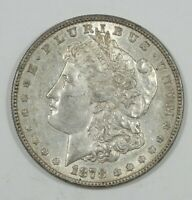 1878 8-TAIL FEATHER MORGAN DOLLAR ALMOST UNCIRCULATED SILVER $