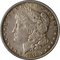 1878-P 7TF MORGAN SILVER DOLLAR SCRATCHES REVERSE GREAT DEALS FROM THE EXECUTIVE