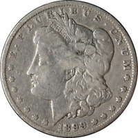 1899-P MORGAN SILVER DOLLAR GREAT DEALS FROM THE EXECUTIVE COIN COMPANY