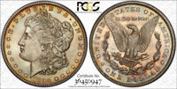 1894 S $1 MORGAN DOLLAR PCGS MINT STATE 63 UNCIRCULATED CAC APPROVED TONED BEAUTY