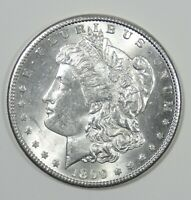 1899-S MORGAN DOLLAR  BRILLIANT UNCIRCULATED SILVER DOLLAR