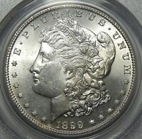 1899-S PCGS MINT STATE 63 MORGAN DOLLAR