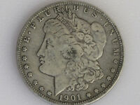1901-O MORGAN SILVER DOLLAR U. S. COIN LOT D5739