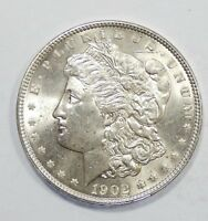 1902 MORGAN DOLLAR CHOICE BRILLIANT UNCIRCULATED SILVER DOLLAR