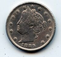 1889-P LIBERTY HEAD NICKEL SEE PROMOTION