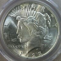 $1 1923 PEACE SILVER DOLLAR PCGS MINT STATE 63  AVENUECOIN