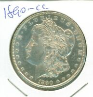 MORE  CARSON CITY MINT MORGAN DOLLAR - 1890-CC IN LOW MINT STATE