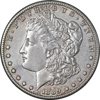 1889-S MORGAN SILVER DOLLAR GREAT DEALS FROM THE EXECUTIVE COIN COMPANY