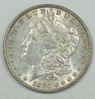 1880-O MORGAN DOLLAR ALMOST UNCIRCULATED SILVER $