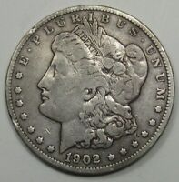 BETTER-DATE 1902 MORGAN DOLLAR. 44