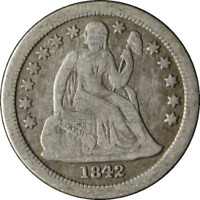 1842-O SEATED LIBERTY DIME GREAT DEALS FROM THE EXECUTIVE COIN COMPANY BBTE2430