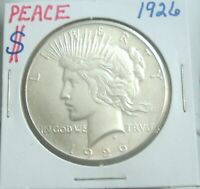 1926 P PEACE SILVER DOLLAR LOVELY COIN