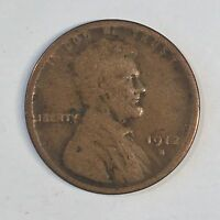 1912-S LINCOLN CENT - HIGH QUALITY SCANS D540