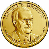 2014 D FRANKLIN D. ROOSEVELT PRESIDENTIAL DOLLAR BRILLIANT UNCIRCULATED COIN US