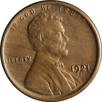 1921-S LINCOLN CENT GREAT DEALS FROM THE EXECUTIVE COIN COMPANY - BBSC22355