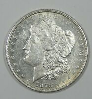 1878 8-TAIL FEATHER MORGAN DOLLAR ALMOST UNCIRCULATED SILVER DOLLAR