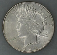 1925 S PEACE SILVER DOLLAR $1 CHOICE AU ABOUT UNCIRCULATED 9686