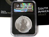 2017 SOUTH AFRICAN 1 OZ FINE SILVER KRUGERRAND NGC SP70 50TH