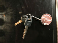 HOLIDAY GIFT 1909-S VDB 1OZ COPPER WHEAT ROUND PENDANT STERLING SILVER KEY RING