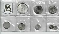 MEXICO CITY MINT 8 COIN UNCIRCULATED MINT SET 1979 GEM WITH