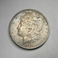 1889-P HOT 50  SILVER MORGAN DOLLAR VAM18 AU COIN AI332