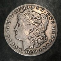 1899-S MORGAN SILVER DOLLAR - HIGH QUALITY SCANS H947