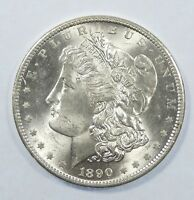 1890-S MORGAN DOLLAR  BRILLIANT UNCIRCULATED SILVER DOLLAR