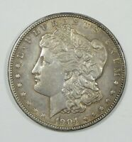 1904 MORGAN DOLLAR ALMOST UNC SILVER DOLLAR