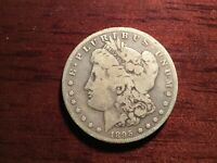 1895 S MORGAN SILVER DOLLAR - KEY DATE FROM THE SAN FRANCISCO MINT