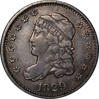 1829 BUST HALF DIME GREAT DEALS FROM THE EXECUTIVE COIN COMPANY - BBH10C1645