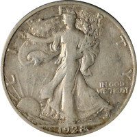 1928-S WALKING LIBERTY HALF GREAT DEALS THE EXECUTIVE COIN COMPANY - BBHW8865