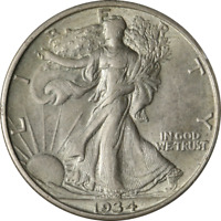 1934-D WALKING LIBERTY HALF GREAT DEALS FROM THE EXECUTIVE COIN COMPANY BBHW8786