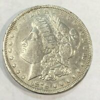 1879-O EXTRA FINE  MORGAN SILVER DOLLAR. LOTNK5 OLD CLEANING