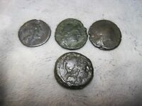 MIXED GROUP LOT OF UNIDENTIFIED ROMAN REPUBLIC COINS  A4