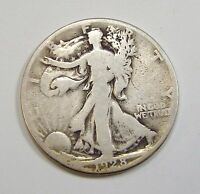 1928-S WALKING LIBERTY HALF DOLLAR GOOD SILVER 50-CENTS