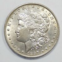 1897-O MORGAN DOLLAR ALMOST UNCIRCULATED SILVER DOLLAR