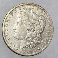 1886-O CLEANED VF-EXTRA FINE  MORGAN SILVER DOLLAR.  LOTNK1